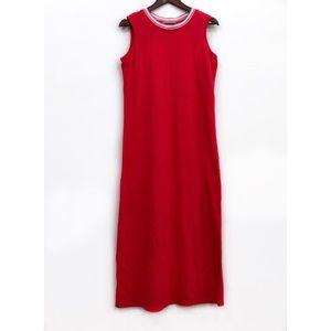 Norm Thompson Sleeveless Red Maxi Dress